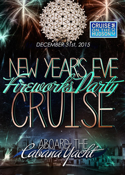 NYC New Years Eve on the Water Aboard the Cabana Yacht Cruise