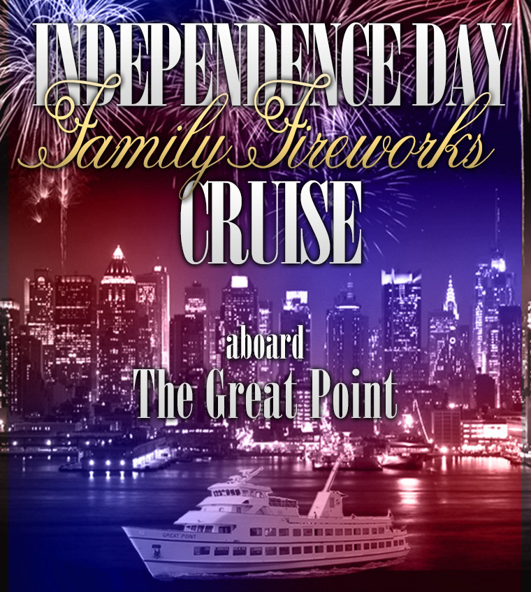 Independence Day Fireworks Cruise Aboard The Great Point South Street Seaport NYC