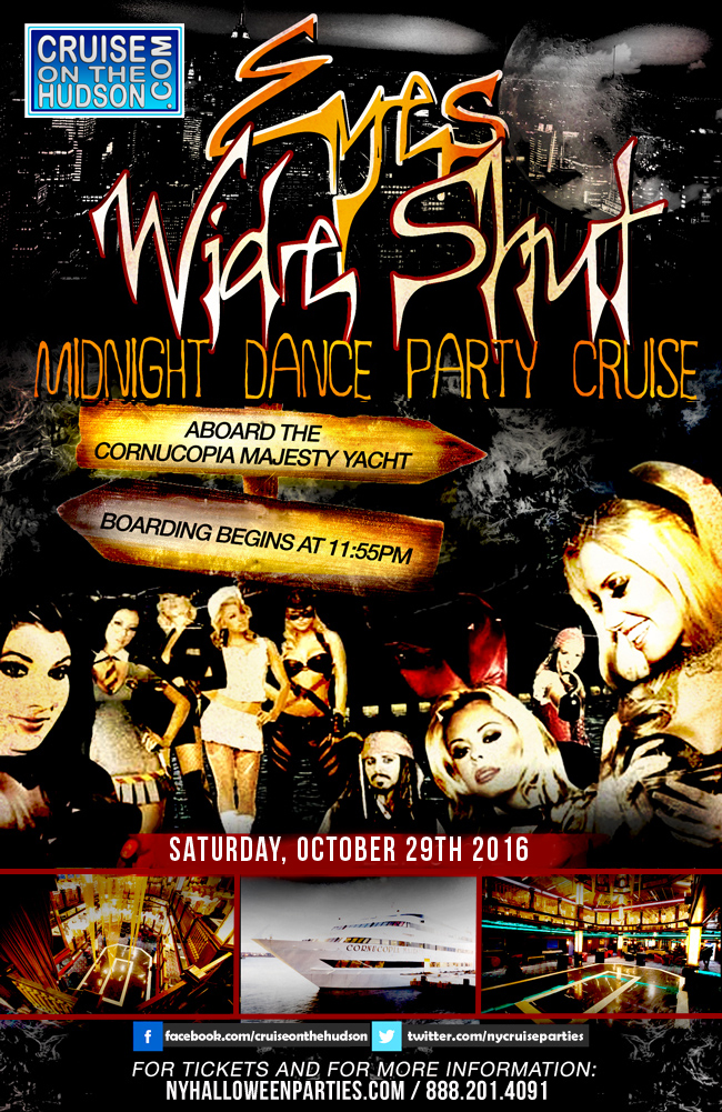 Eyes Wide Shut NYC Halloween Dance Cruise