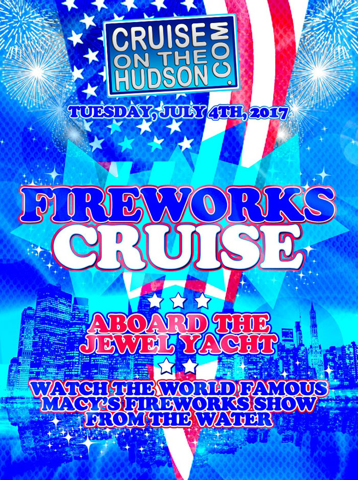 July 4th Fireworks Dance Cruise NYC