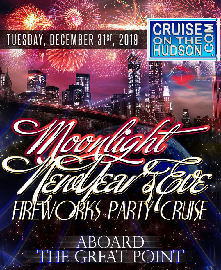 NYC New Years Eve on the Water Aboard  the Great Point Cruise