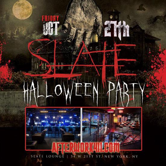 The Haunted NY Halloween Party at Slate NYC Lounge Flatiron