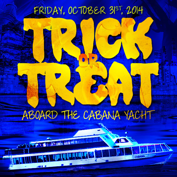 Trick or Treat Halloween Cruise NYC On the Cabana Yacht Boat NYC