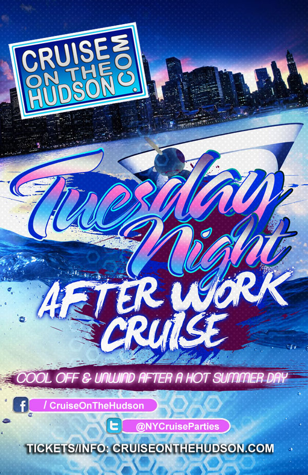 The Tuesday Night After Work Cruise NYC Skyport Marina