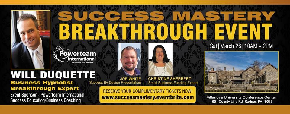 Success Mastery Event