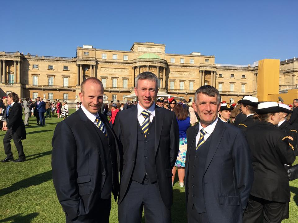 Jeremy Purdy at Buckingham Palace