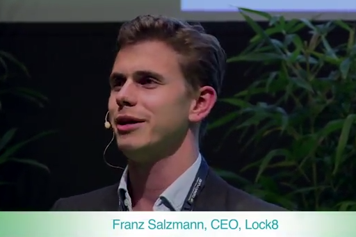 Franz Salzmann, CEO of Lock8 will share his hardware story at the event.