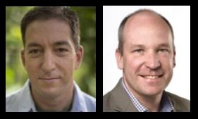 Glenn Greenwald and David Walmsley