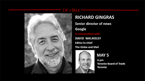 Richard Gingras and David Walmsley