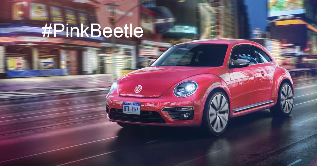 PinkBeetle From Volkswagen