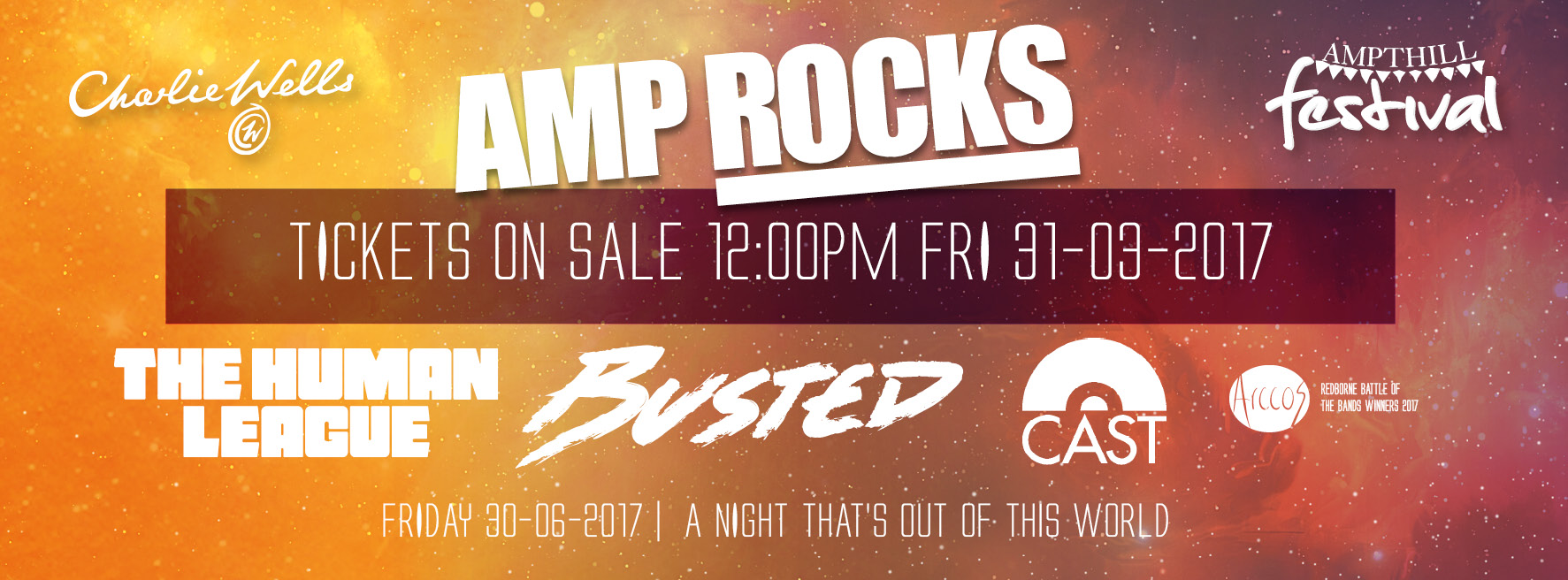 AmpRocks 2017 Ticket Release