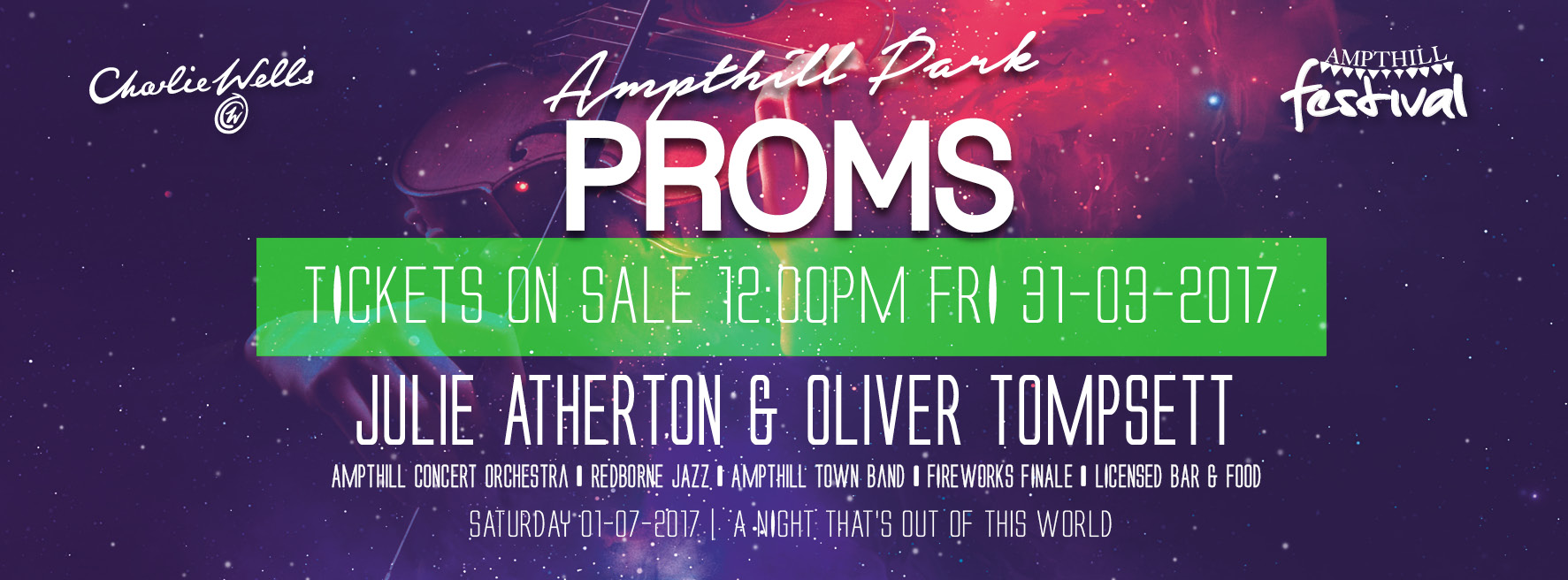 Proms Ticket Banner