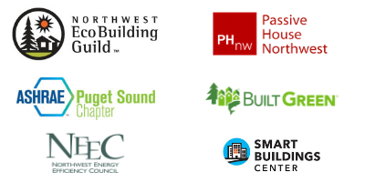 NWEBG, PHnw, Built Green, ASHRAE Puget Sound, NEEC, Smart Buildings Center