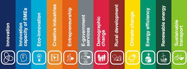 INTERREG IVC Thematic Capitalisation Topics