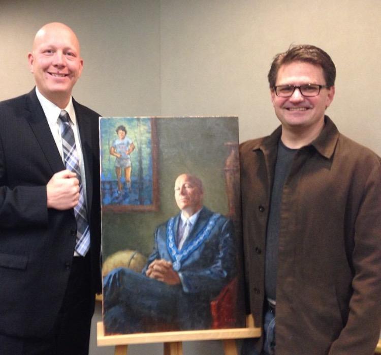 Michael King Painter - Mayor Greg Moore