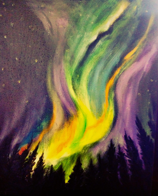 Join Us For One Of Our Most Popular Events, Our Northern Lights Paint U0026 Sip  Night. This Paint And Sip Night Includes A Glass Of Wine Or Beer And Light  ...