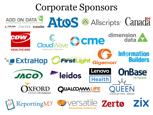 May 2018 NEHIMSS Corporate Sponsors