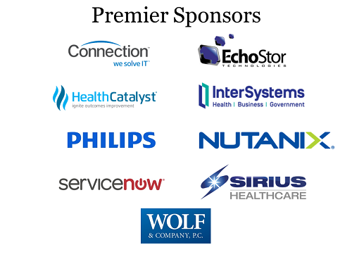 May 2018 NEHIMSS Premier Sponsors