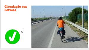 código da estrada e as bicicletas