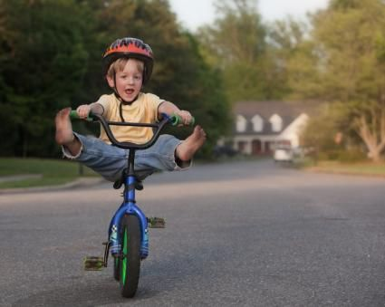 aprender andar de bicicleta