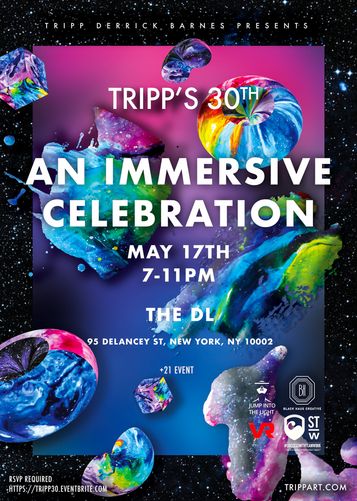 Tripp Art's 30th Flyer