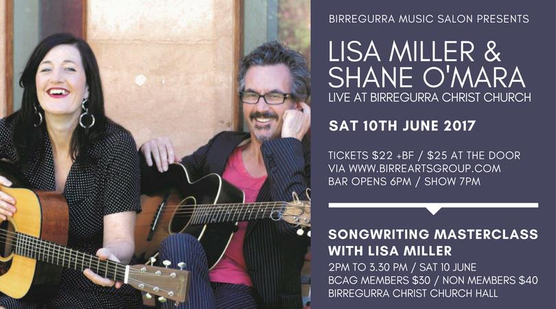 Lisa Miller & Shane O'Mara live at Birregurra