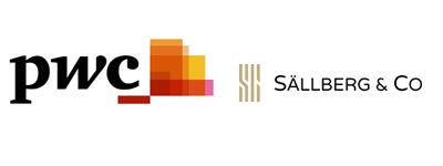 PwC och Sällberg logo