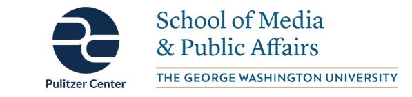 Pulitzer and GW SMPA Logos