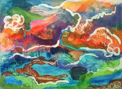 Christine Sauer painting