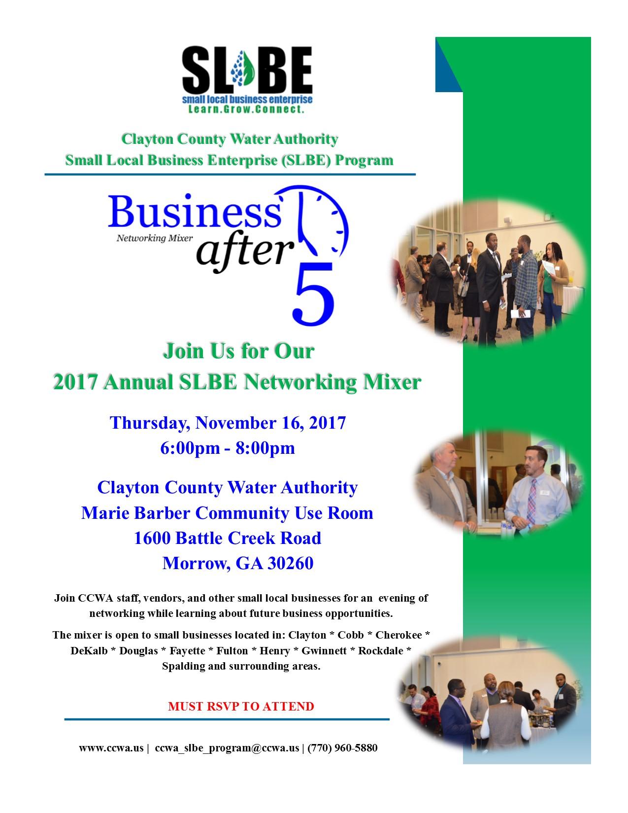 2017 Annual Mixer Flyer