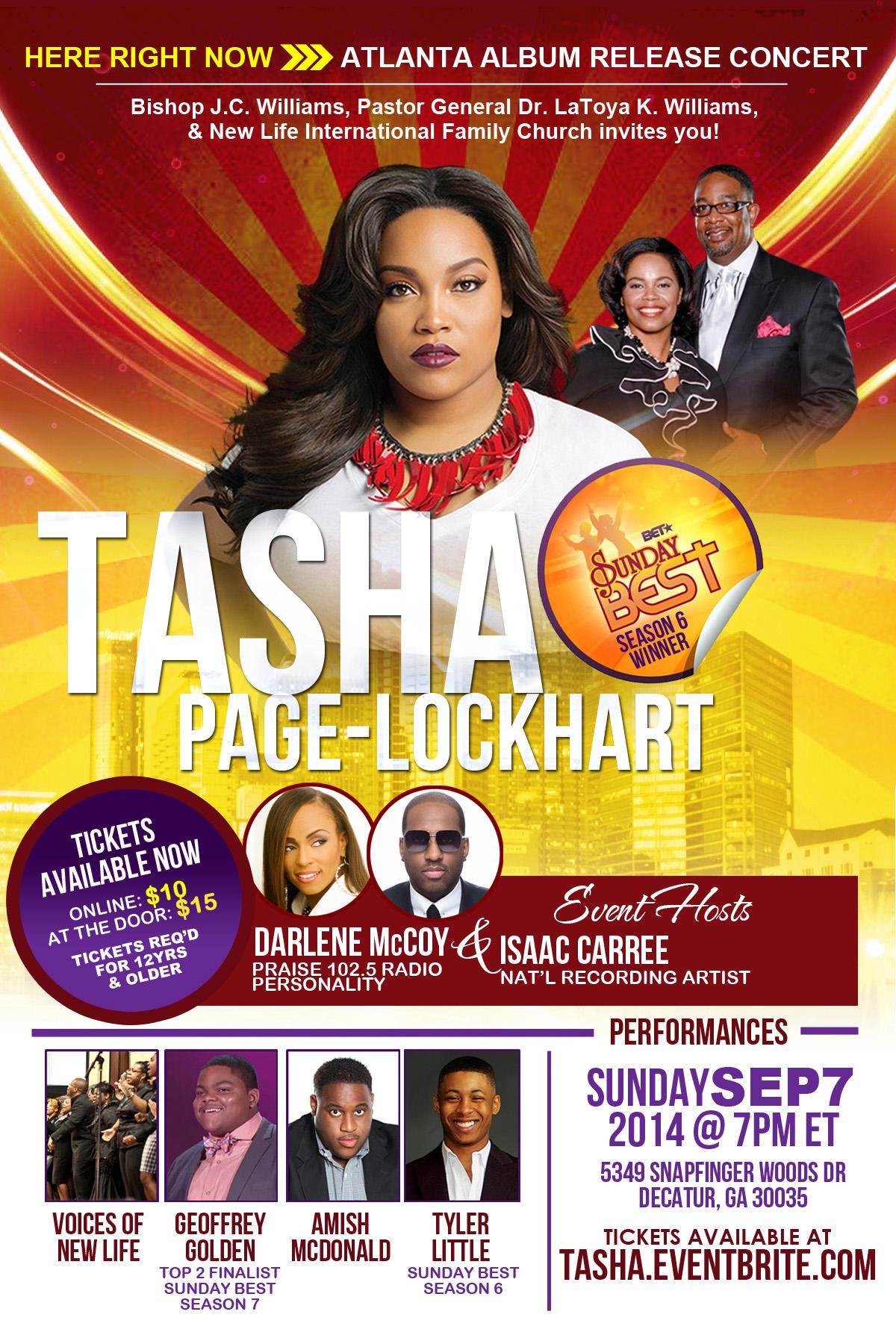 Tasha Page-Lockhart Atlanta Release Concert at NLIFC