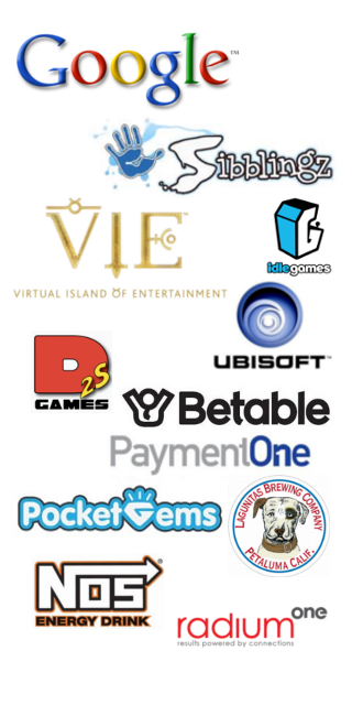 Silicon Valley IGDA Sponsor Logos