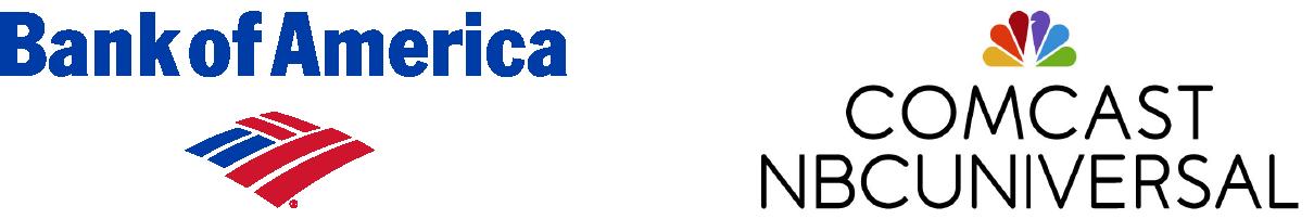 Bank of America & Comcast NBC Universal