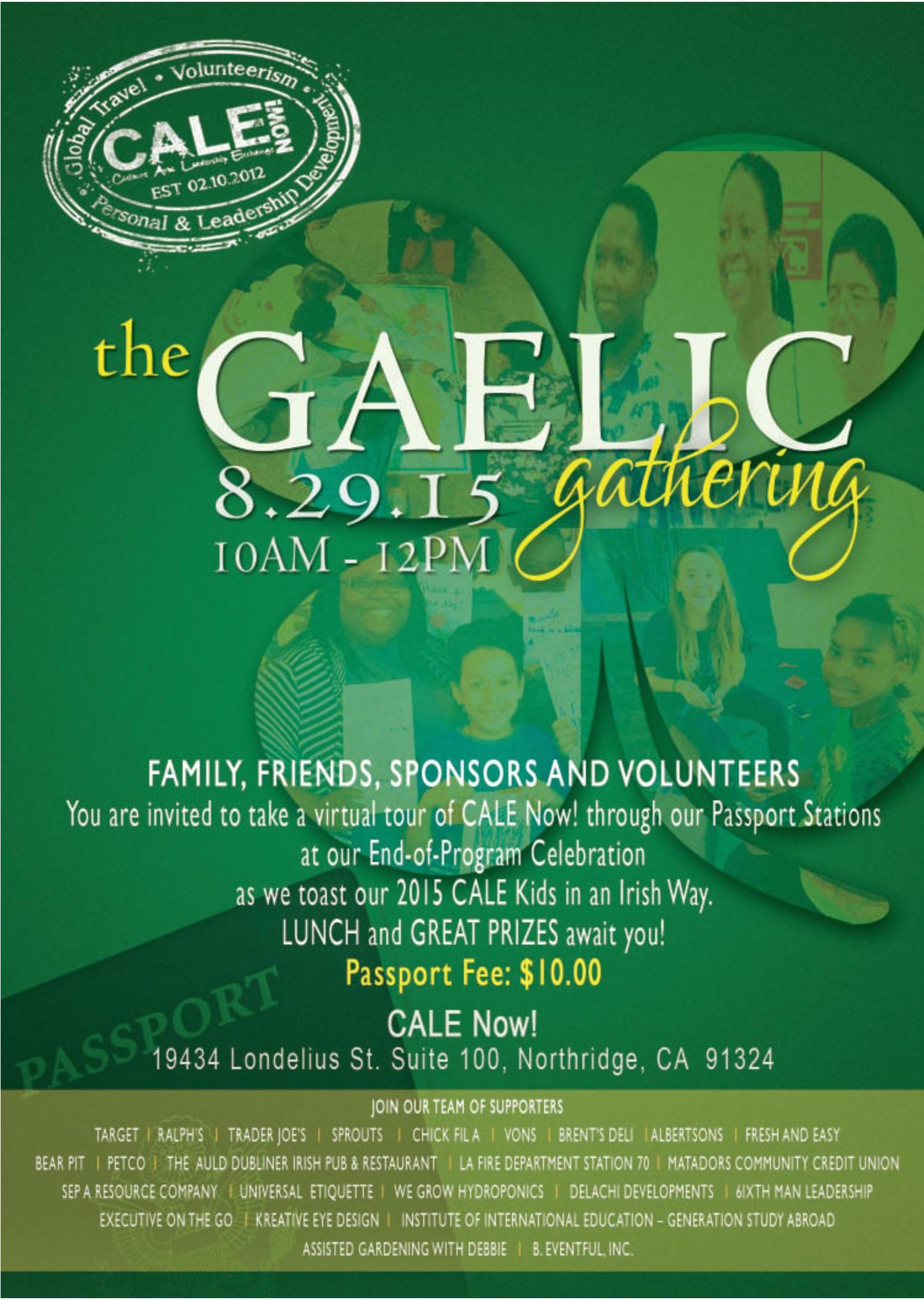 2015 Gaelic Gathering