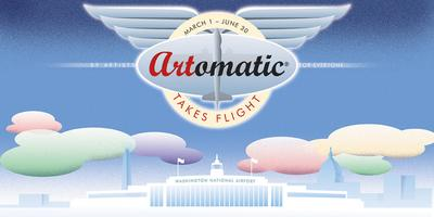 Artomatic Takes Flight Exhibit Opening