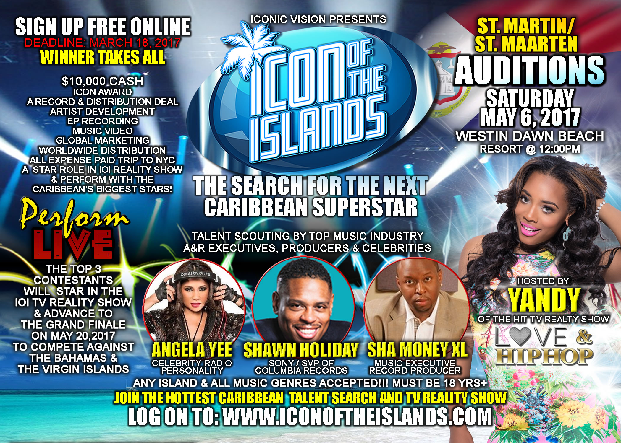 St Maarten and St Martin Icon of the Islands Auditions - Season 2