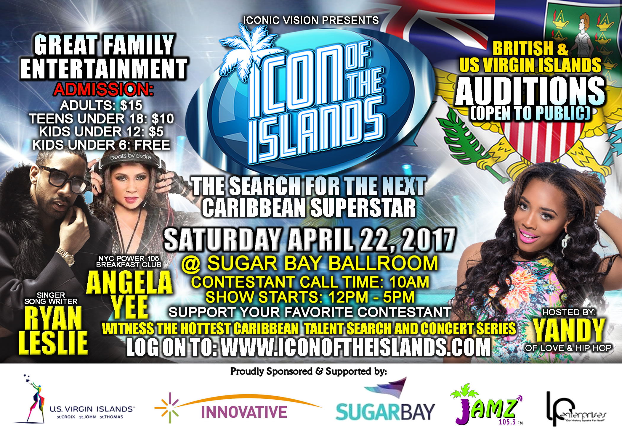 Icon of the Islands Auditions - Virgin Islands Season 2