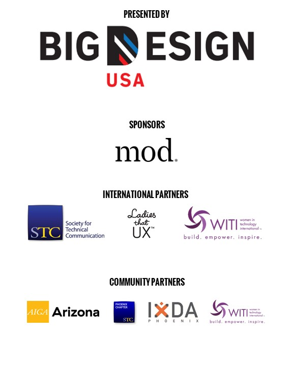 Sponsor and partner logos.