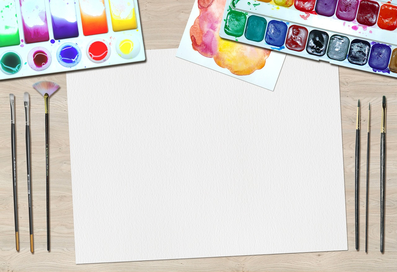 a blank vision board