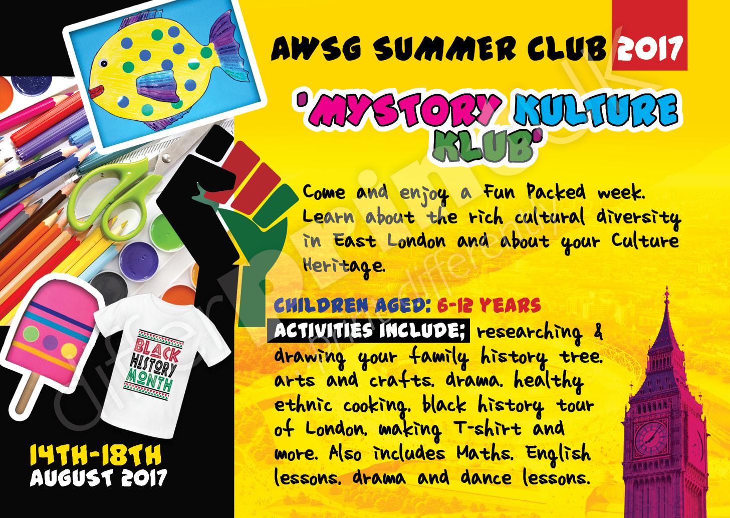 AWSG SUMMER SCHOOL FLYER 1