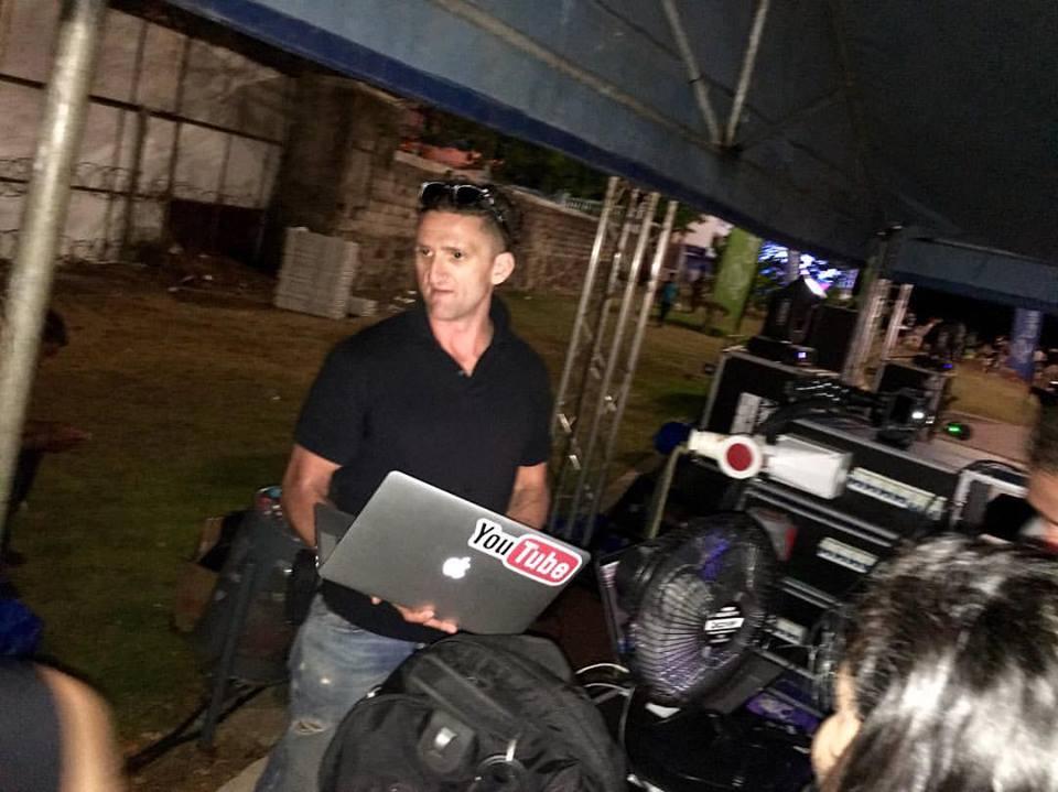 Casey Neistat backstage