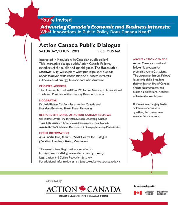 Advancing Canada's Economic and Business Interests