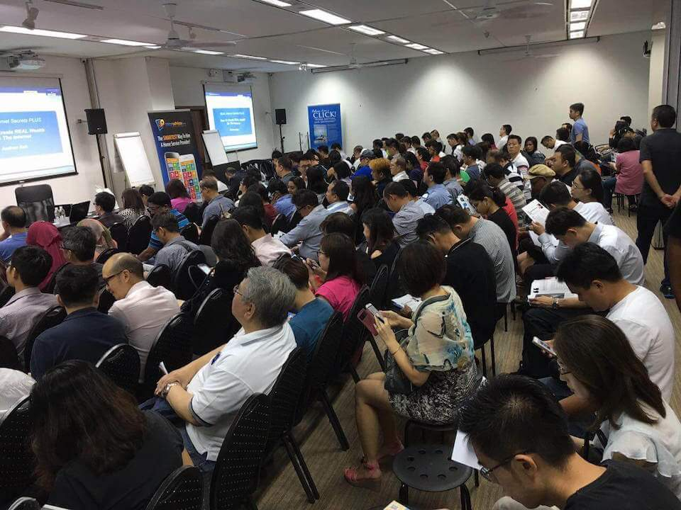 Real Internet Secrets Plus Singapore | Full House Seminar