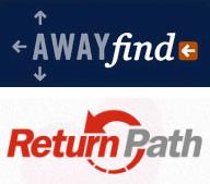 AwayFind and Return Path logos
