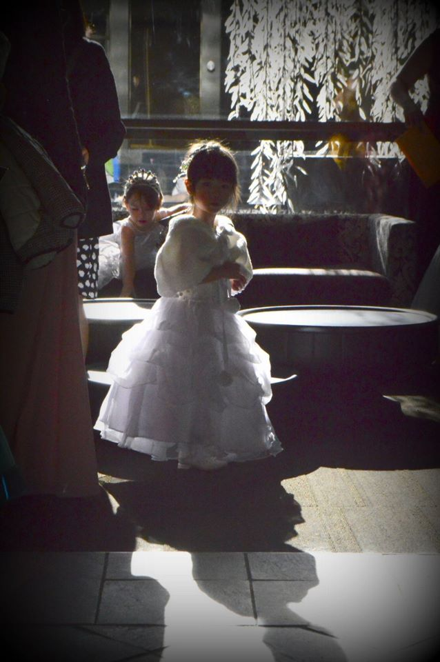 A Little Princess waiting for the Ball to begin!