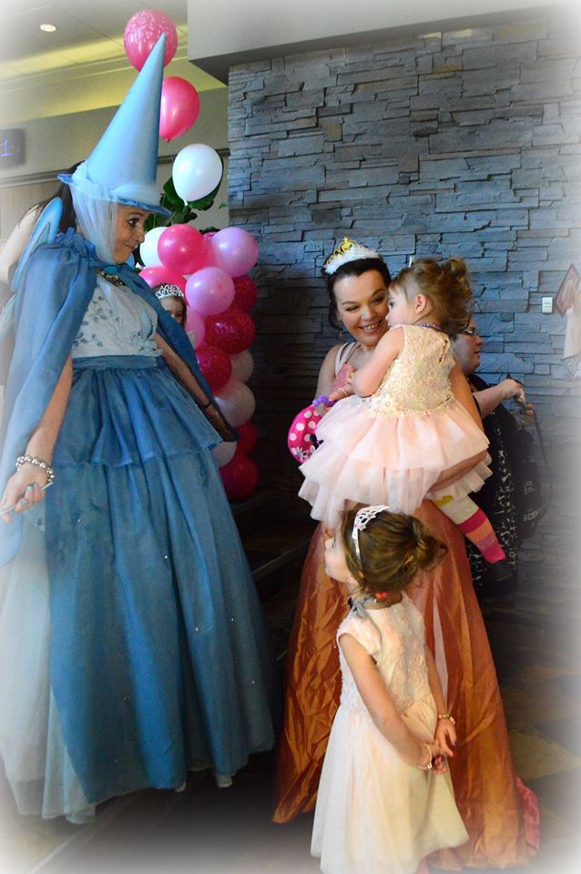 Our Fairy Godmother and some of our Royal guests.