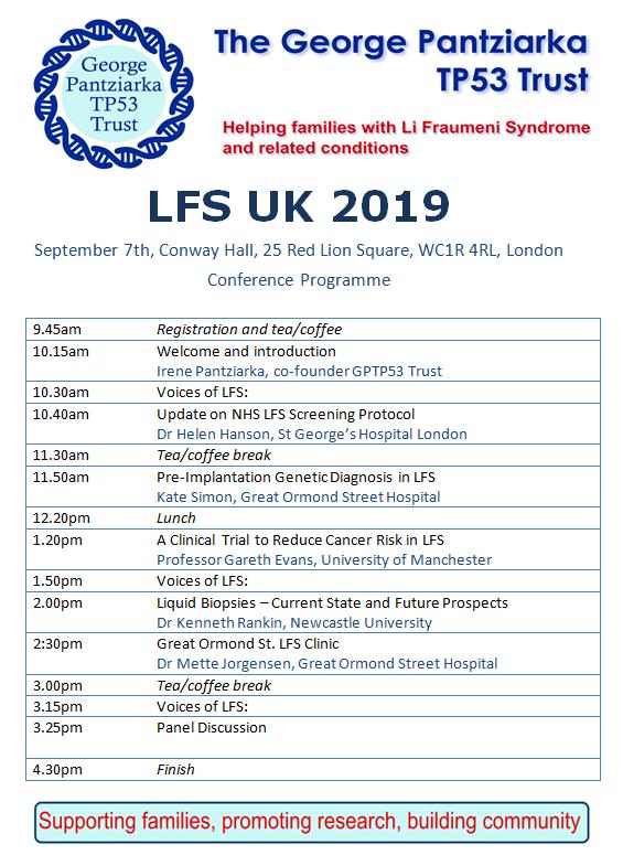 LFS UK 2019 Program