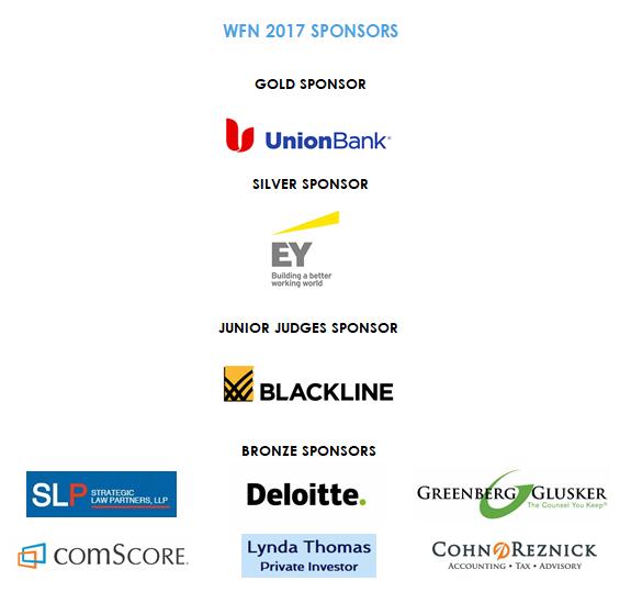 2017 WFN Sponsors