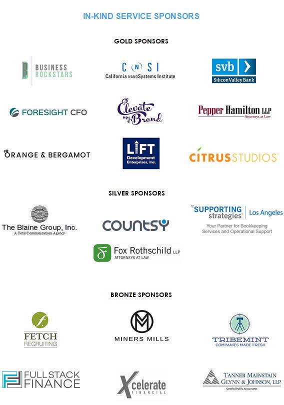 2017 WFN In-kind Sponsors