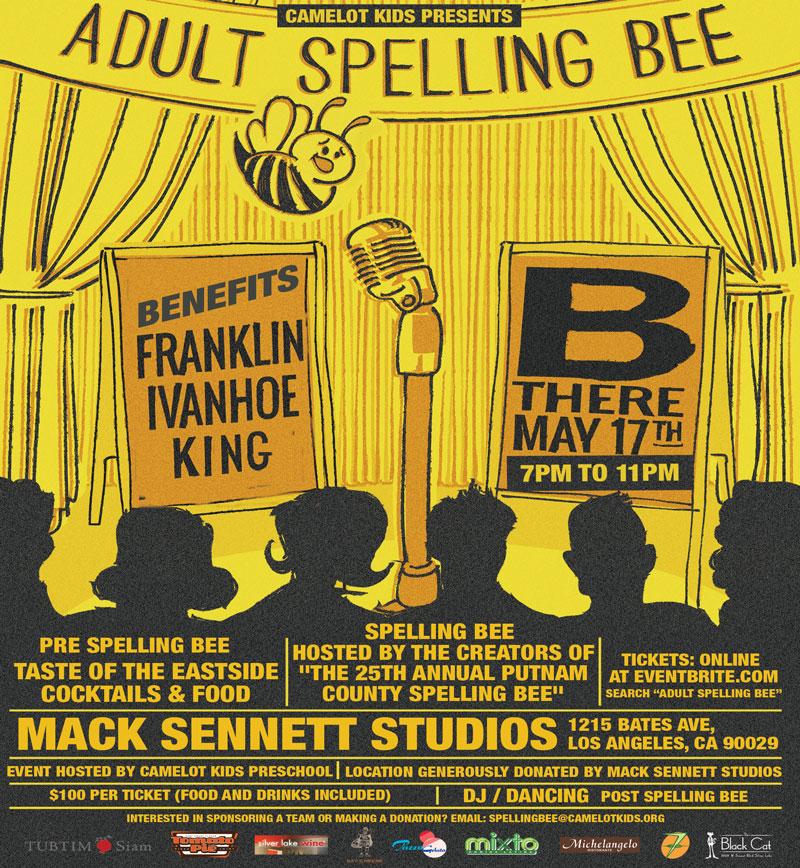 Spelling Bee Banner